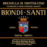 Brunello di Montalcino DOCG Biondi Santi Etichetta