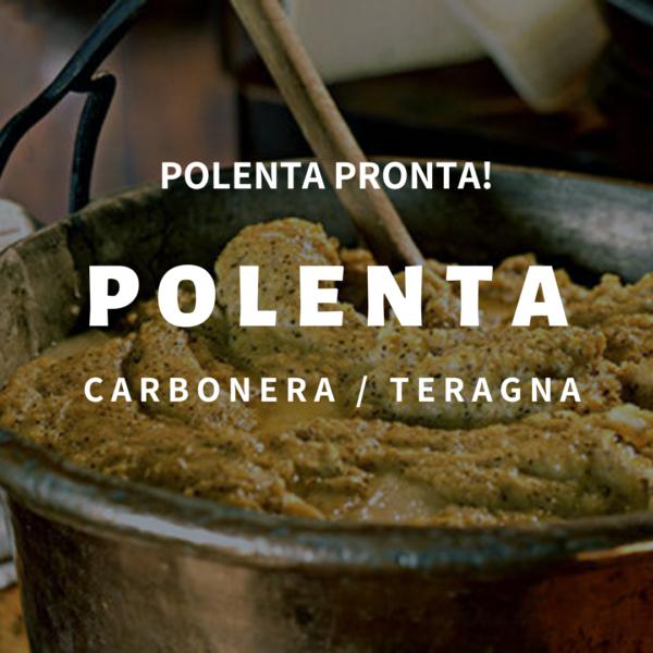 Polenta Carbonera o Teragna