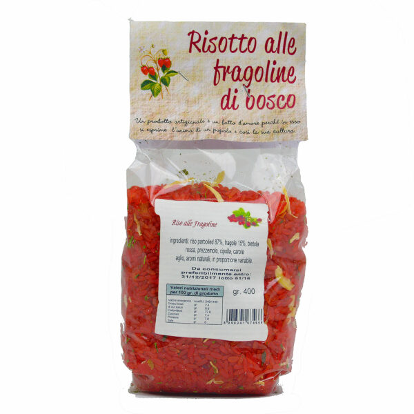 Risotto alle Fragoline di Bosco 400g