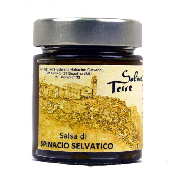 Salsa di spinacio selvatico Terre Solive 156g