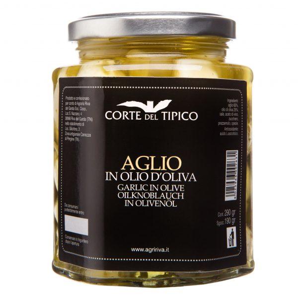 Aglio in Olio di Oliva Agraria Riva del Garda 290g