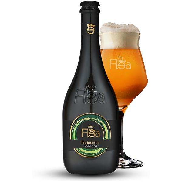 Birra Flea Federico II Golden Ale 0,75l
