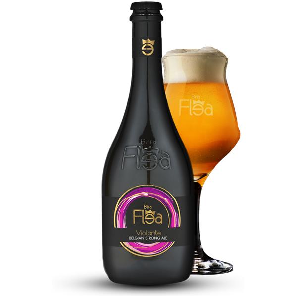 Birra Flea Violante Belgian Strong Ale 0,75l