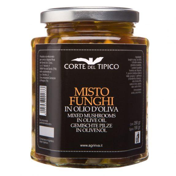 Misto Funghi in Olio di Oliva Agraria Riva del Garda