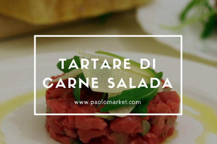 Tartare di Carne Salada del Trentino