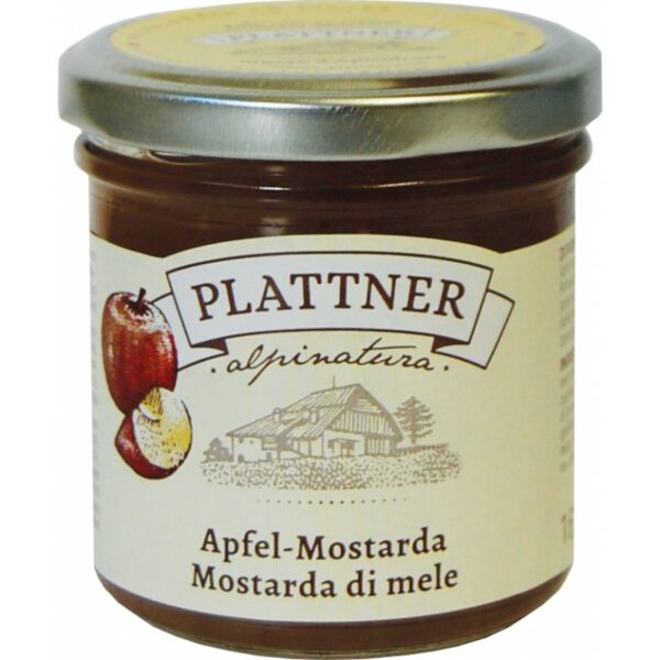 Mostarda di Mele Plattner 160g