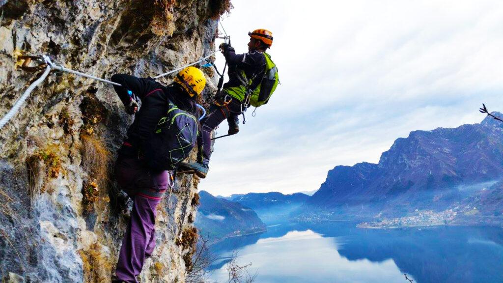 Lago d'Idro e Sport - Free Climbing