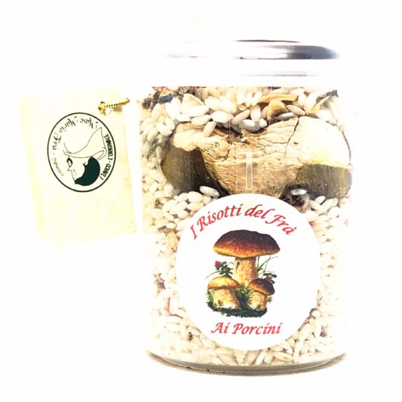 Riso ai Funghi Porcini del Trentino in Vaso