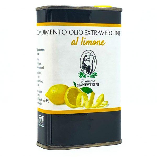 Olio Extra Vergine di Oliva al Limone Lattina Manestrini Lago di Garda