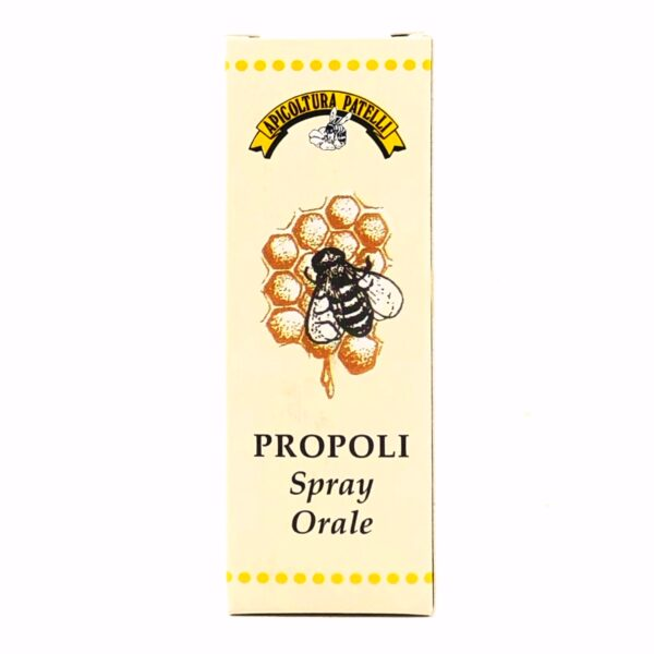 Propoli Spray Orale Apicoltura Patelli 25ml