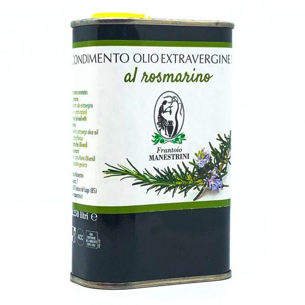 Olio Extra Vergine di Oliva al Rosmarino Lattina Manestrini Lago di Garda