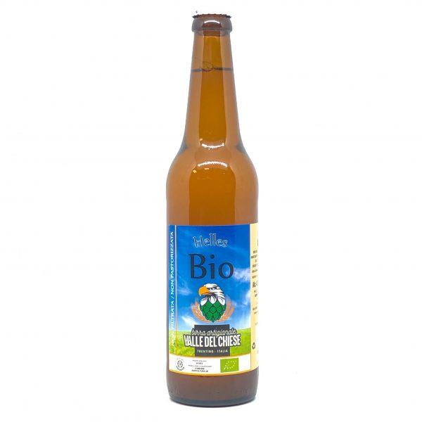 Birra Artigianale Valle del Chiese Bionda Biologica