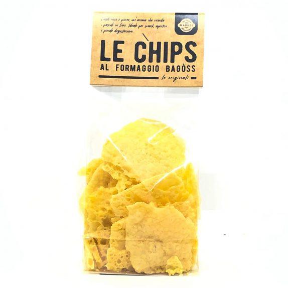 Chips al formaggio Bagòss