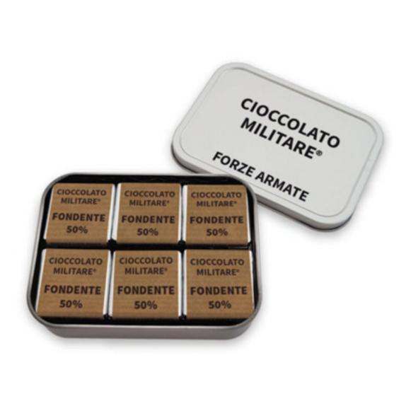 Cioccolato Militare Napolitan Fondente 70% 24pz Originale Forze Armate