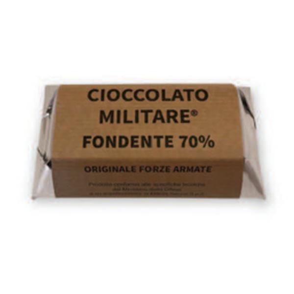 Cioccolato Militare Tavoletta Fondente 70%