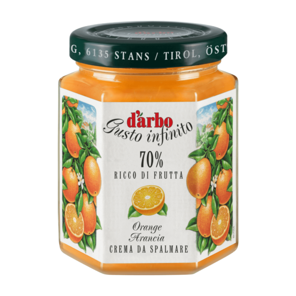 Crema di Arance Darbo 70% 200g