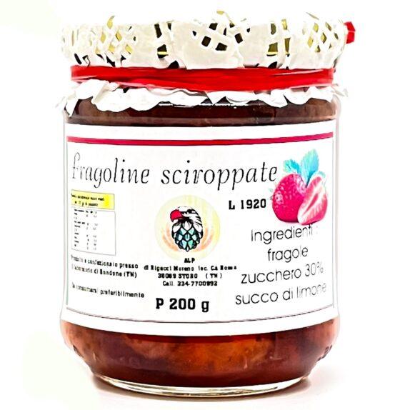 Fragoline di Bosco Sciroppate del Trentino