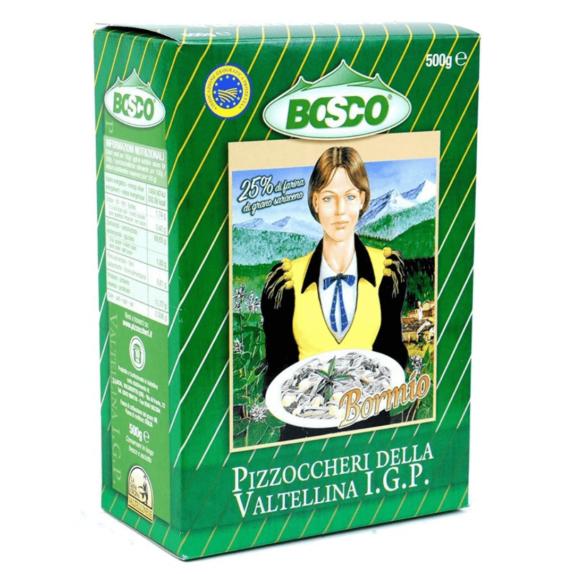 Pizzoccheri della Valtellina IGP Bosco