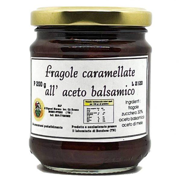Fragoline di Bosco Caramellate all'Aceto Balsamico del Trentino